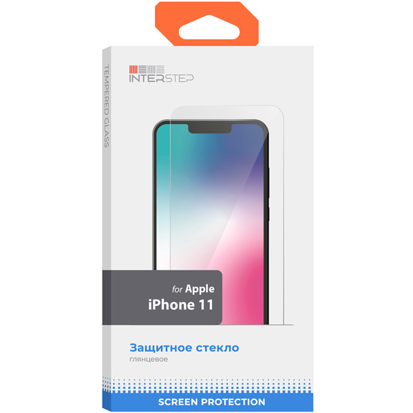 Защитное стекло InterStep — для iPhone11