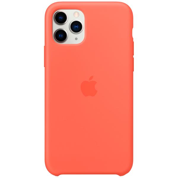 Чехол Apple iPhone 11 Pro Silicone Case Clementine (Orange) фото