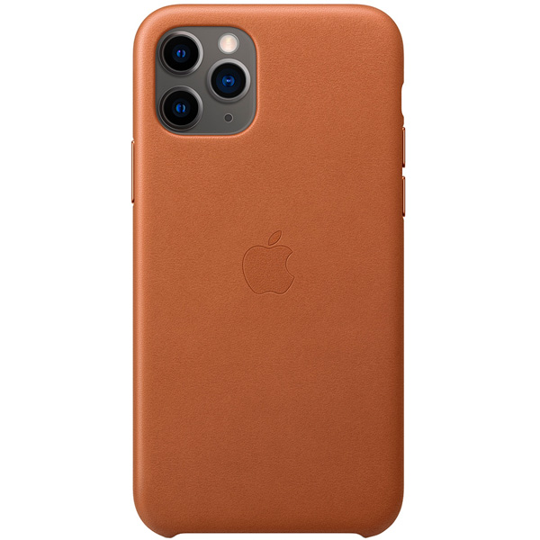Чехол Apple — iPhone 11 Pro Leather Case Saddle Brown