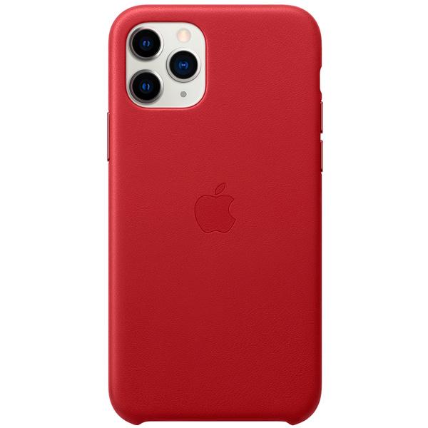 кожаный чехол apple leather case для iphone 8 7 цвет product red красный mqha2zm a Чехол Apple iPhone 11 Pro Leather Case (PRODUCT)RED