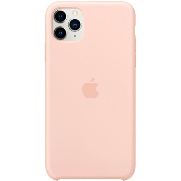 Чехол Apple — iPhone 11 Pro Max Silicone Case Pink Sand