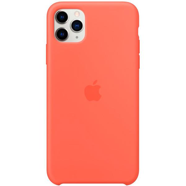 Чехол Apple iPhone 11 Pro Max Silicone Case Clementine Orange фото