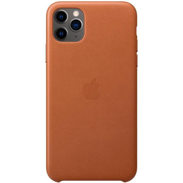 Чехол Apple — iPhone 11 Pro Max Leather Case Saddle Brown