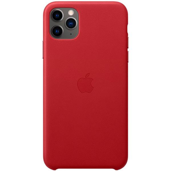 кожаный чехол apple leather case для iphone 8 7 цвет product red красный mqha2zm a Чехол Apple iPhone 11 Pro Max Leather Case (PRODUCT)RED