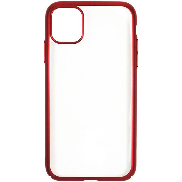 Чехол InterStep — DECOR NEW MAT MV iPhone 11 Red