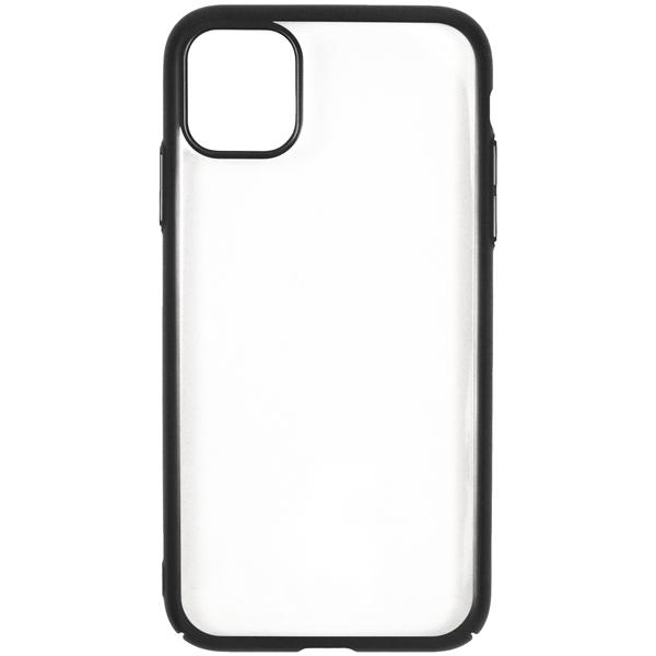 Чехол InterStep — DECOR NEW MAT MV iPhone 11 Pro Black