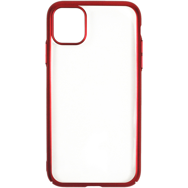 Чехол InterStep — DECOR NEW MAT MV iPhone 11 Pro Max Red