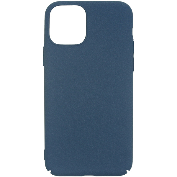 Чехол InterStep — SAND PC EL iPhone 11 Dark Blue