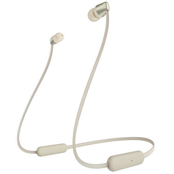 Наушники внутриканальные Bluetooth Sony WI-C310 Gold