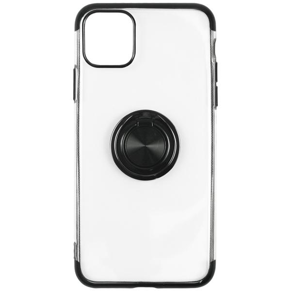 Чехол InterStep — FRAME RING MV iPhone 11 Pro Black