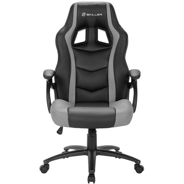 Кресло компьютерное игровое Sharkoon Skiller SGS1 Black/Grey SHARKOON