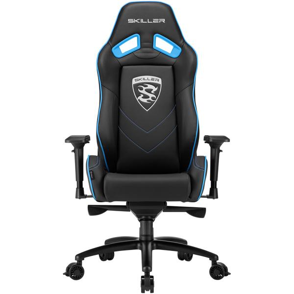 Кресло компьютерное игровое Sharkoon Skiller SGS3 Black/Blue
