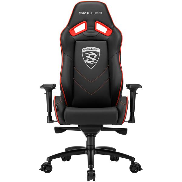 Кресло компьютерное игровое Sharkoon Skiller SGS3 Black/Red