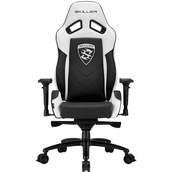 Кресло компьютерное игровое Sharkoon Skiller SGS3 Black/White