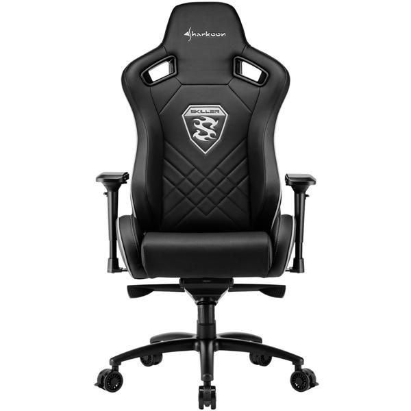 Кресло компьютерное игровое Sharkoon Skiller SGS4 Black фото