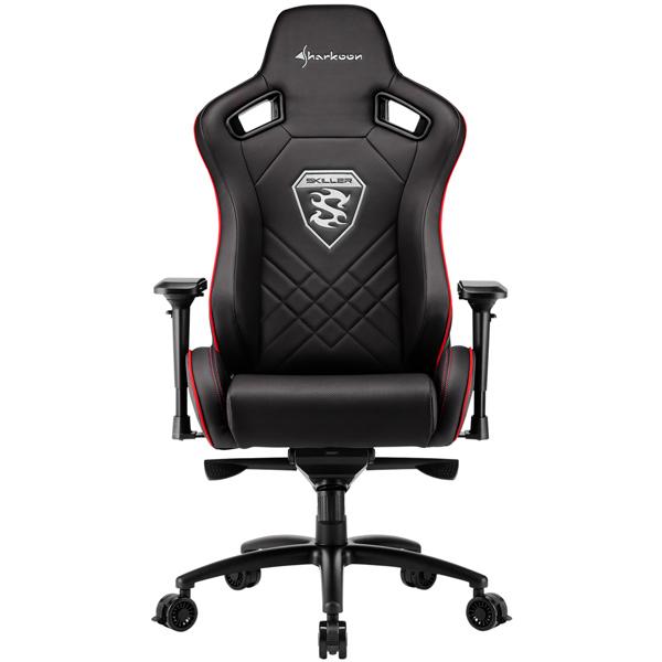 Кресло компьютерное игровое Sharkoon Skiller SGS4 Black/Red