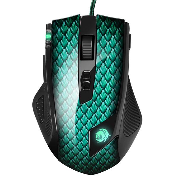 Игровая мышь Sharkoon — Drakonia Green
