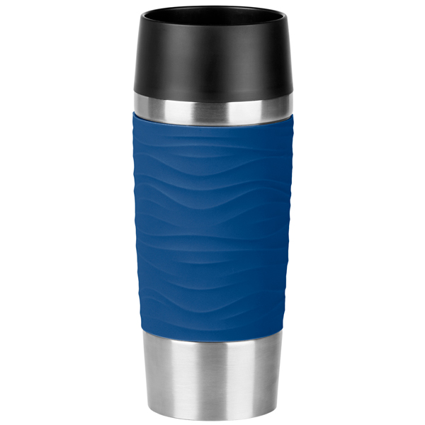 Купить Термокружка Emsa Travel Mug Waves 0,36л Blue (N2010900) в каталоге интернет магазина М.Видео по выгодной цене с доставкой, отзывы, фотографии - Старый Оскол