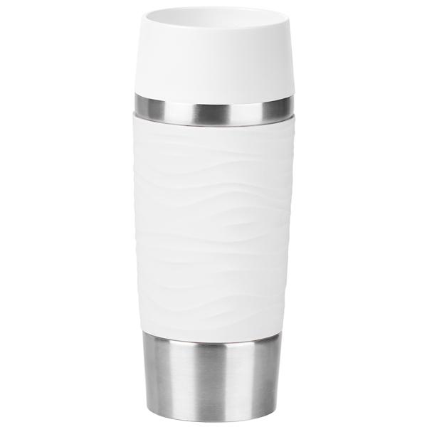 Купить Термокружка Emsa Travel Mug Waves 0,36л White (N2011000) в каталоге интернет магазина М.Видео по выгодной цене с доставкой, отзывы, фотографии - Москва