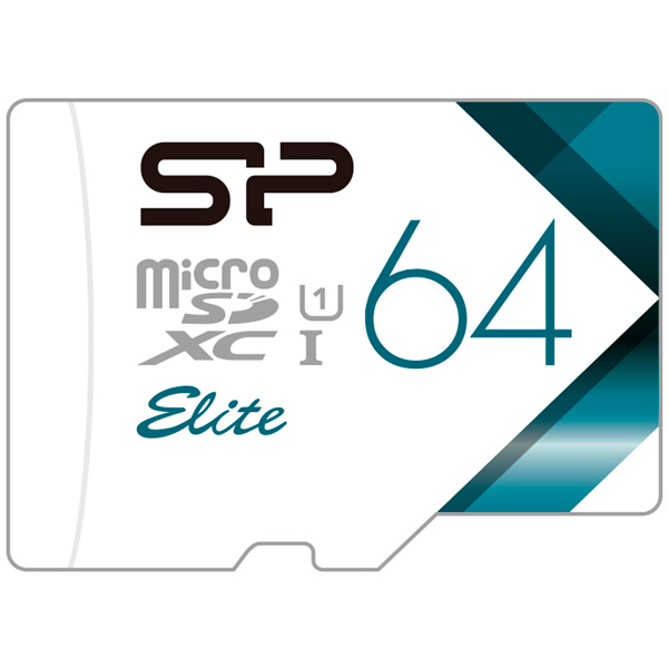 Карта памяти SD Micro Silicon Power 64GB Elite (SP064GBSTXBU1V21)
