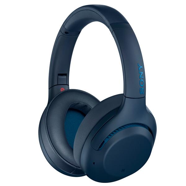Наушники накладные Bluetooth Sony WH-XB900N Blue