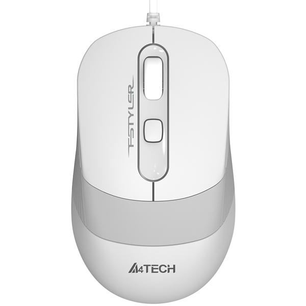 Мышь проводная A4Tech FStyler FM10 White/Grey