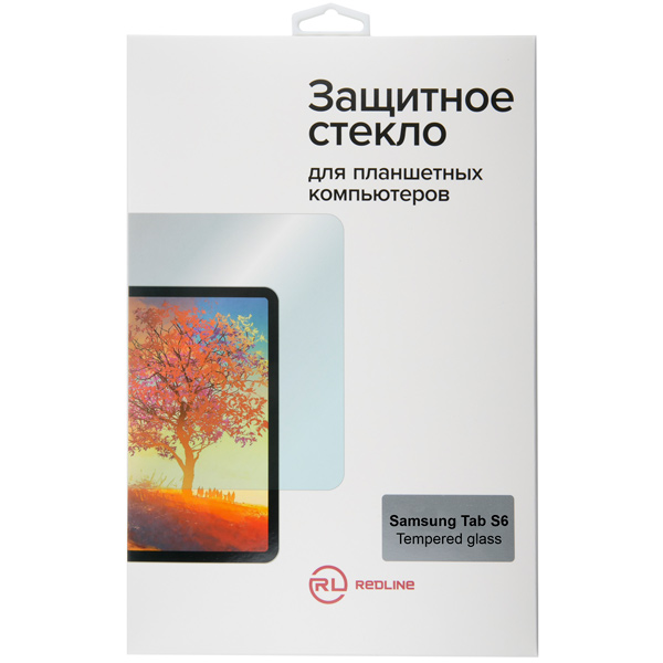 Защитное стекло для планшетного компьютера Red Line для Samsung Tab S6