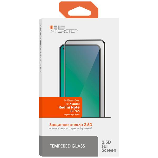 Защитное стекло InterStep FSC для Xiaomi Redmi Note 8 Pro, Black