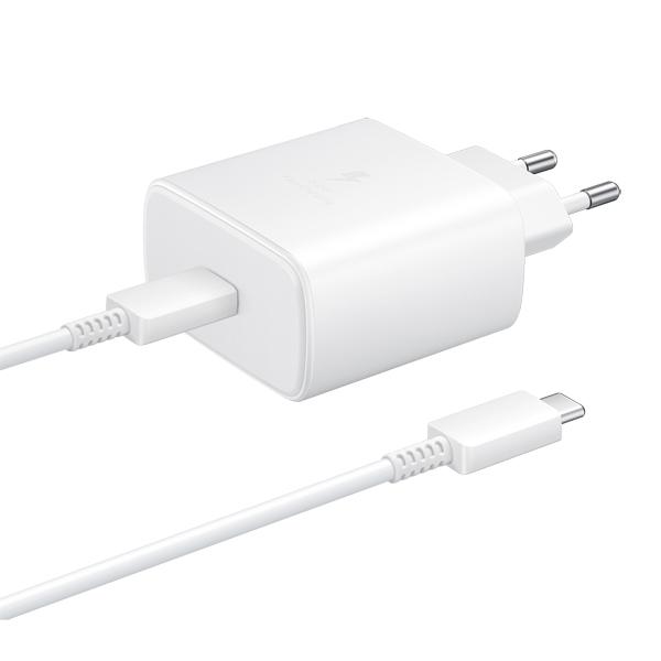Сетевое зарядное устройство Samsung EP-TA845 USB Type-C 45W White фото