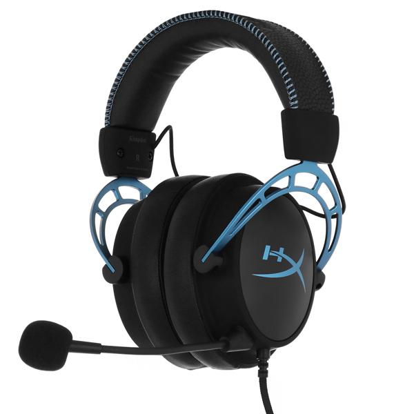 Игровые наушники HyperX — Cloud Alpha S Blue (HX-HSCAS-BL/WW)