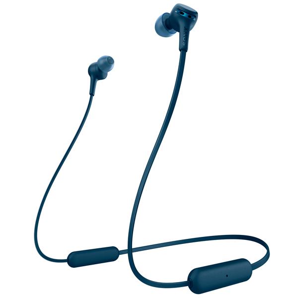Наушники внутриканальные Bluetooth Sony WI-XB400 Blue