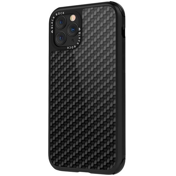 Чехол Black Rock — Robust Case Real Carbon iPhone 11 Pro черный