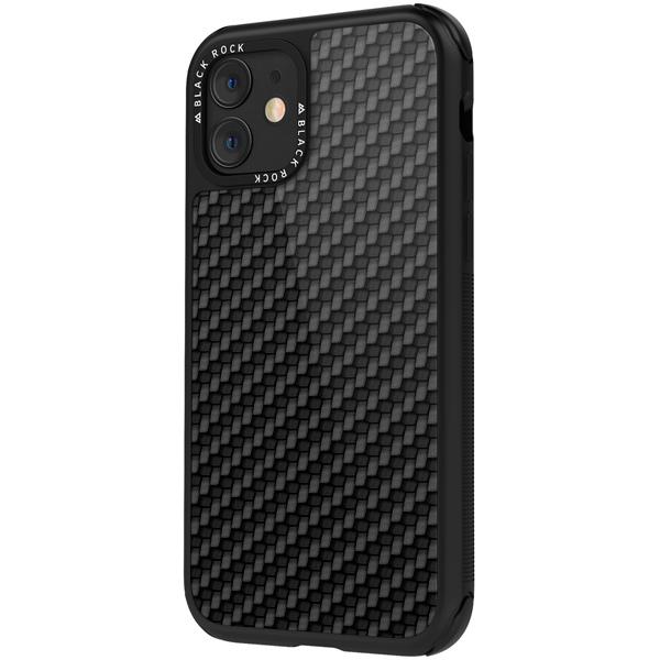 Чехол Black Rock — Robust Case Real Carbon iPhone 11 черный