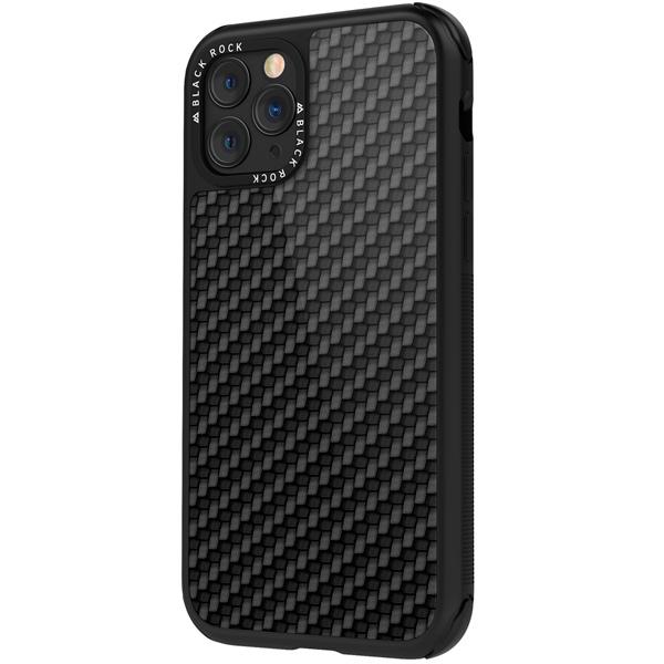Чехол Black Rock — Robust Case Real Carbon iPhone 11 Pro Max черный