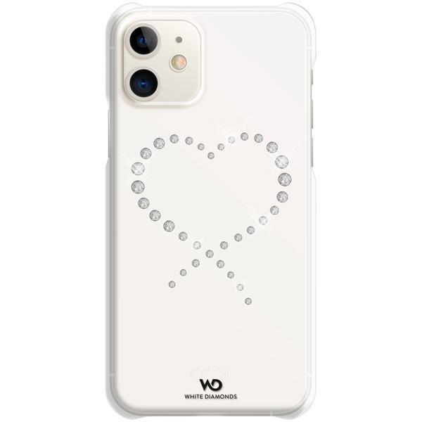 Чехол White Diamonds Eternity iPhone 11 прозрачный/кристаллы прозрачного цвета