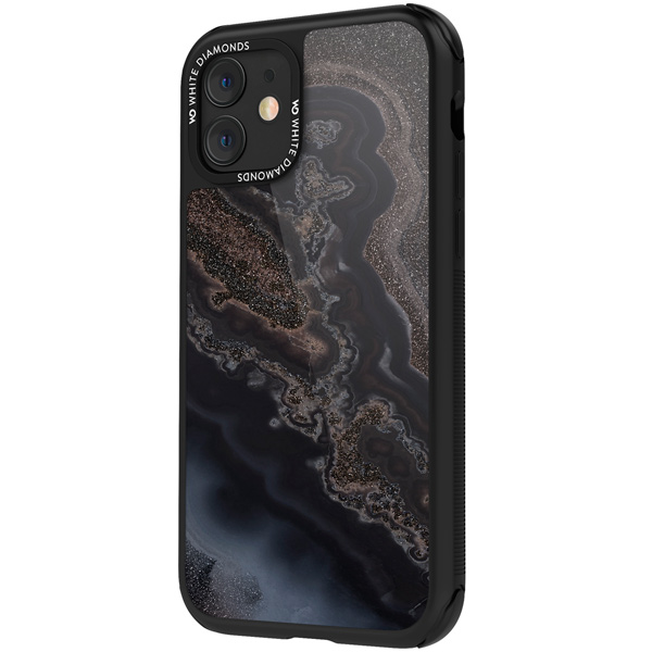 Чехол White Diamonds Tough Mineral Case iPhone 11 черный черного цвета