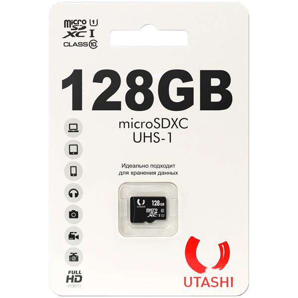 Карта памяти MicroSD Utashi