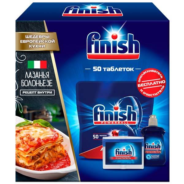 Моющее средство для посудомоечной машины Finish Шедевры европейской кухни