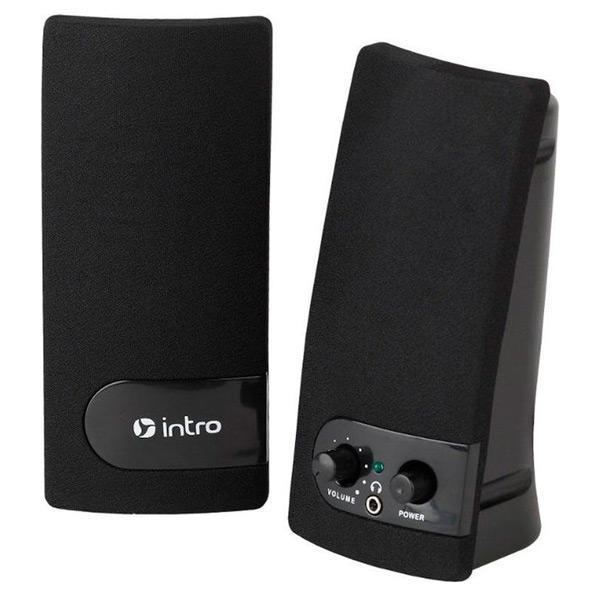 Колонки компьютерные Intro SP340 Black (USB)