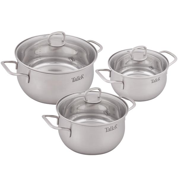 Набор посуды (нержавейка) TalleR TR-17120