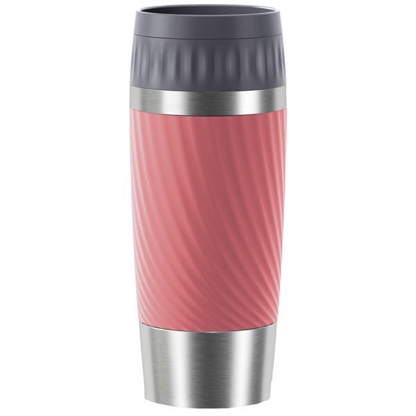 Термокружка Emsa Travel Mug Easy Twist Pink (N2011600) фото