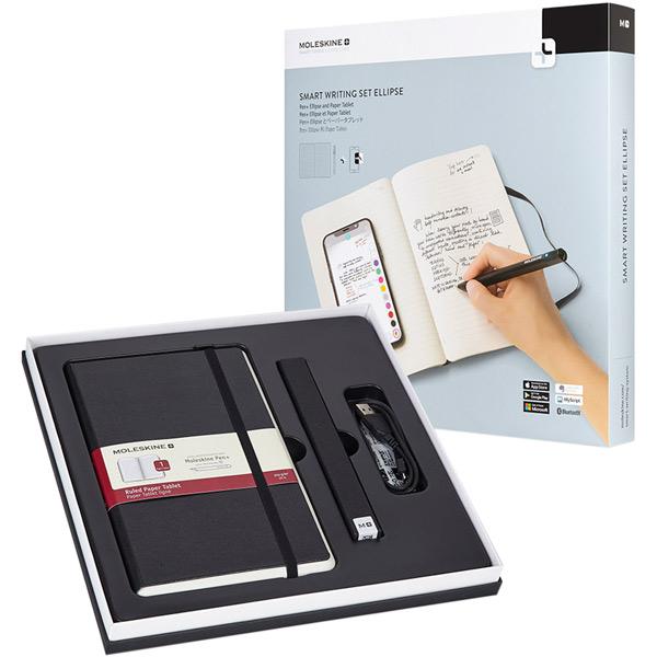 Smart гаджет Moleskine Блокнот Paper Tablet + ручка SMART PEN+ Ellipse
