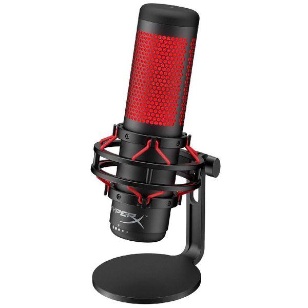 Купить Игровой микрофон для компьютера HyperX QuadCast Gaming (HX-MICQC-BK) в каталоге интернет магазина М.Видео по выгодной цене с доставкой, отзывы, фотографии - Тверь