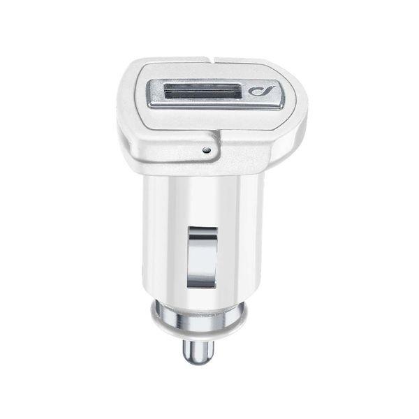 Автомобильное зарядное устройство Cellular Line USB Adaptive Fast 15W, White (CBRSMUSB15WW) белого цвета
