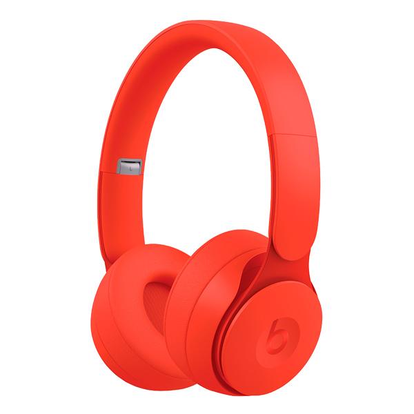 Наушники Bluetooth Beats — Solo Pro Wireless Noise Cancelling MMC Red