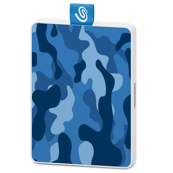 Внешний диск SSD Seagate 500GB One Touch SSD Camo Blue (STJE500406)