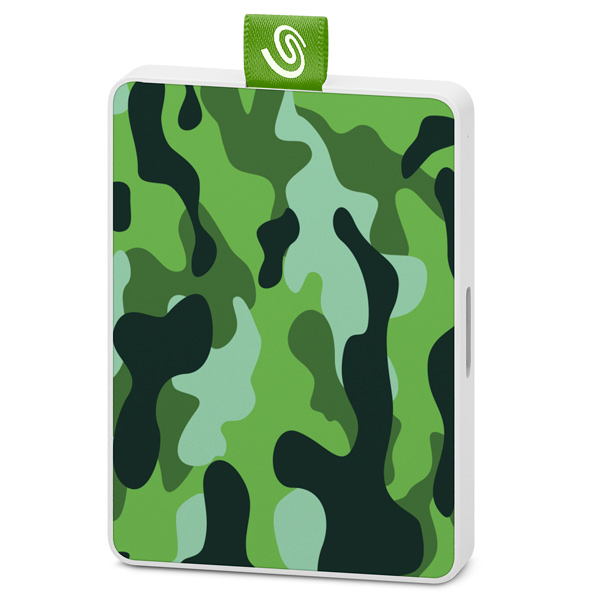 Внешний диск SSD Seagate 500GB One Touch SSD Camo Green (STJE500407)