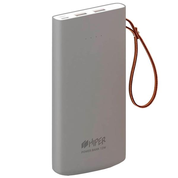 Внешний аккумулятор HIPER — Travel10K Gray