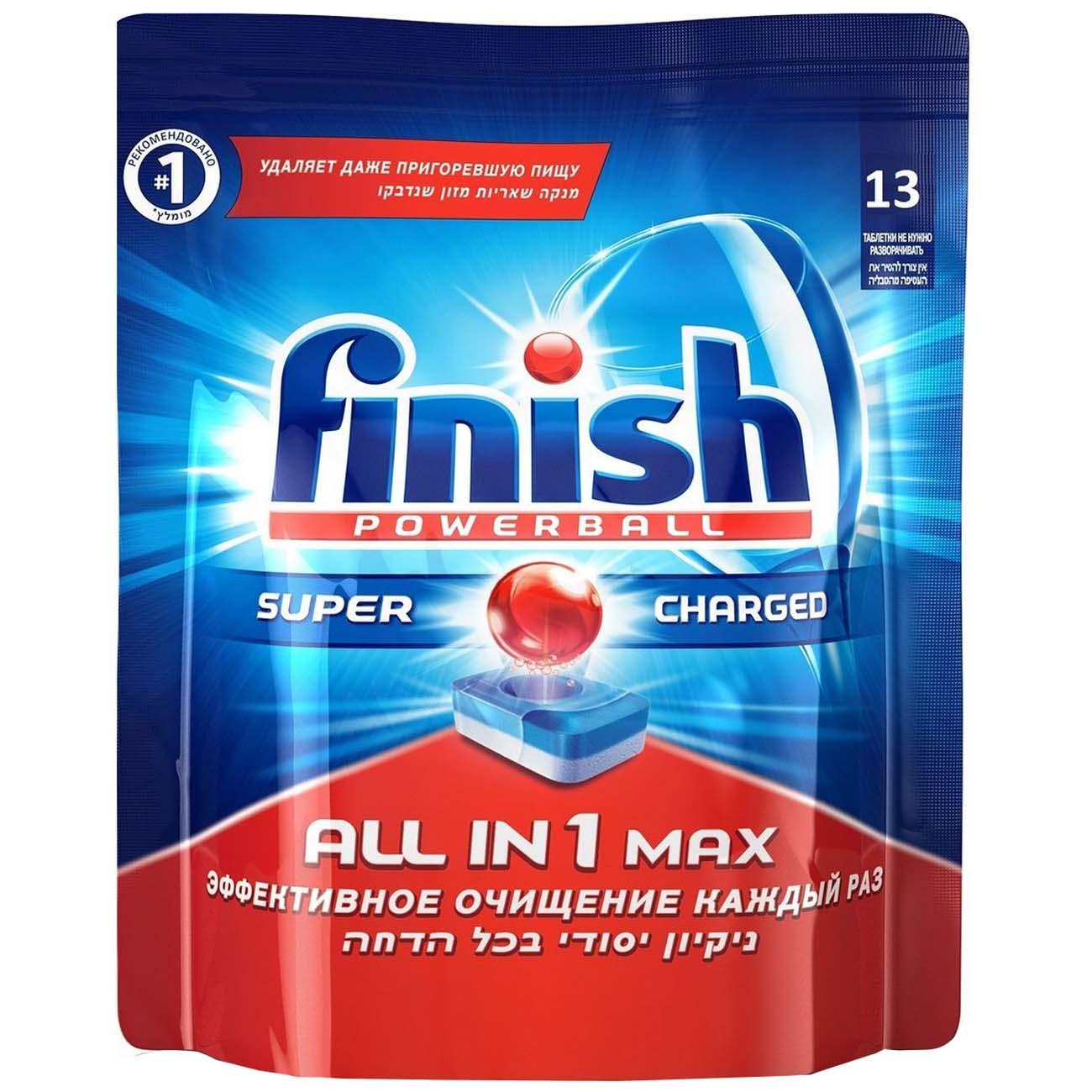 Моющее средство для посудомоечной машины Finish All in 1 Max 13табл.