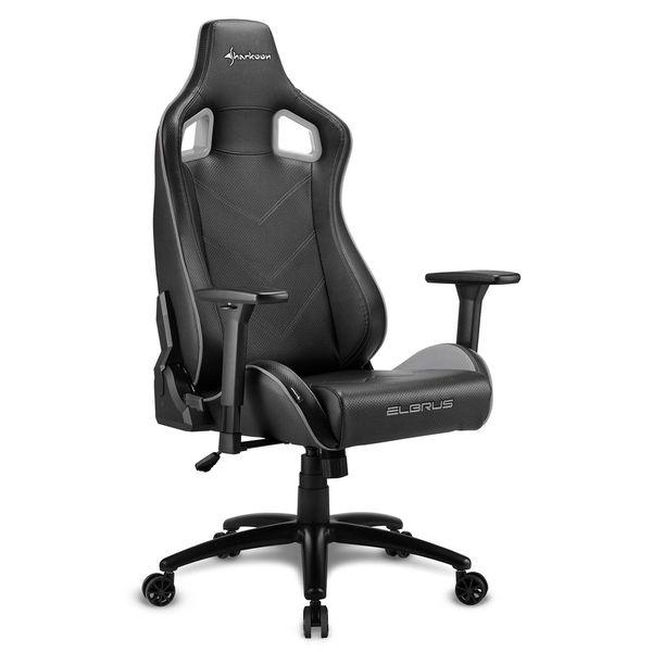 Кресло компьютерное игровое Sharkoon Elbrus 2 Black/Grey SHARKOON